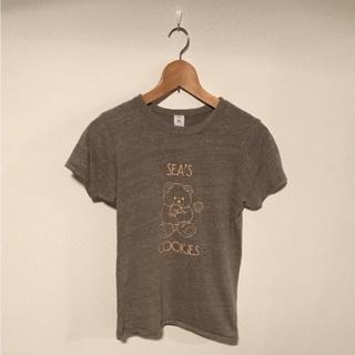 シー(SEA)のsea ブラウン Tシャツ (Tシャツ(半袖/袖なし))