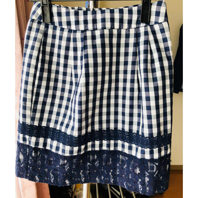 MERCURYDUO(マーキュリーデュオ)のマーキュリーデュオ ギンガムチェックスカート レディースのスカート(ミニスカート)の商品写真