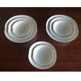 白山陶器 - 白山陶器 ともえ 白 8点セット
