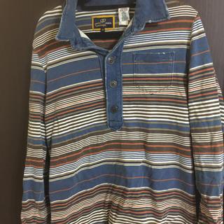 エナジー(ENERGIE)のenergy ビンテージ風長袖ポロシャツ(ポロシャツ)