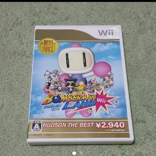 ウィー(Wii)の「ボンバーマンランドWii ハドソン・ザ・ベスト」(家庭用ゲームソフト)