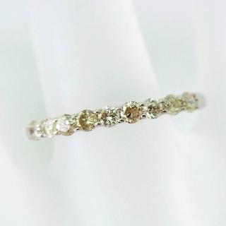 K10ホワイトゴールド ダイヤモンド リング 10.5号[f218-6] (リング(指輪))