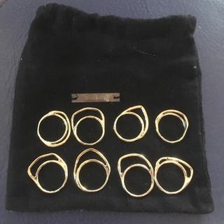 イオッセリアーニ(IOSSELLIANI)のイオッセリアーニ 8連リング(リング(指輪))