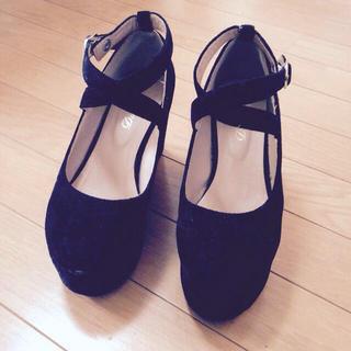 ウィゴー(WEGO)のwego☆厚底靴(ハイヒール/パンプス)