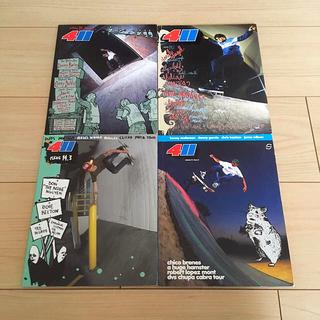 ナイキ(NIKE)の411VM Vol.14 Issue1~4 スケボー DVD(スケートボード)