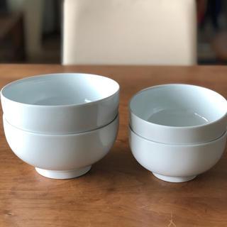 MUJI (無印良品) - 無印良品 MUJI ボウル 2サイズ 各2個セット