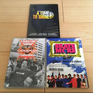 ナイキ(NIKE)のスケボー DVD 3点セット Transworld DVS 4☆(スケートボード)