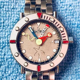 アランシルベスタイン(Alain Silberstein)の【日本正規購入品】 オーバーホール済み アランシルベスタイン マリーン GMT(腕時計(アナログ))
