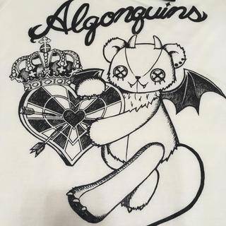 アルゴンキン(ALGONQUINS)の【送料込】ALGONQUINS カットソー 白(カットソー(半袖/袖なし))