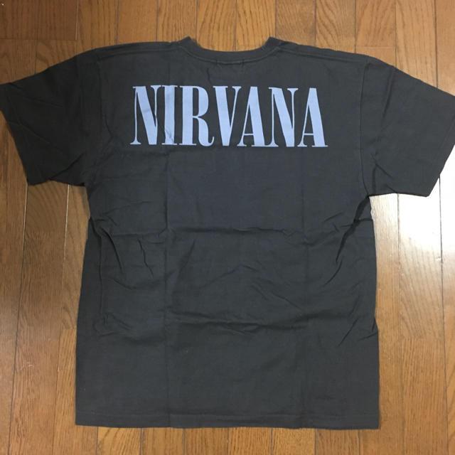 HALFMAN(ハーフマン)のニルバーナ NIRVANA ヴィンテージ バンドtシャツ HALFMAN メンズのトップス(Tシャツ/カットソー(半袖/袖なし))の商品写真