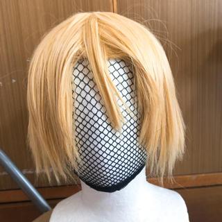 コスプレ ウィッグ 金髪 ショート(ウィッグ)