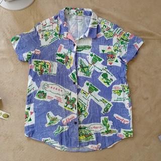 エーズラビット(Asrabbit)のASRABBIT BIG WAVE アロハシャツ(シャツ/ブラウス(半袖/袖なし))