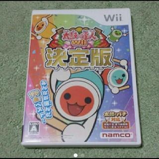 ウィー(Wii)の「太鼓の達人Wii 決定版」 (家庭用ゲームソフト)