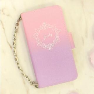 レディー(Rady)のRady♡グラデーション手帳型iPhoneケース(iPhoneケース)