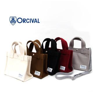 オーシバル(ORCIVAL)のORCIVAL オーシバル オーチバル 2WAY ミニ帆布バッグ(ショルダーバッグ)