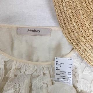 アリスバーリー(Aylesbury)の◾︎◾︎ アリスバーリー ◾︎◾︎ 刺繍レースブラウス(シャツ/ブラウス(半袖/袖なし))