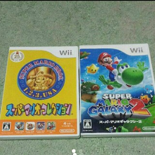 ウィー(Wii)のWii スーパーマリオ セット(家庭用ゲームソフト)