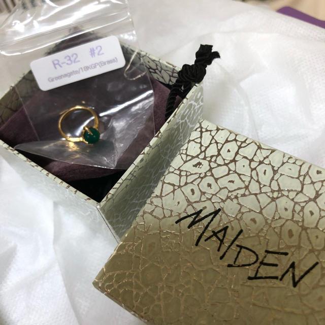 OPENING CEREMONY(オープニングセレモニー)のMAIDEN メイデン ファランジリング ピンキーリング レディースのアクセサリー(リング(指輪))の商品写真