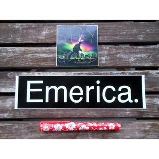 エメリカ(Emerica)の正規品 エメリカ Emerica ステッカー 2枚 スケートボード サーフィン(スケートボード)