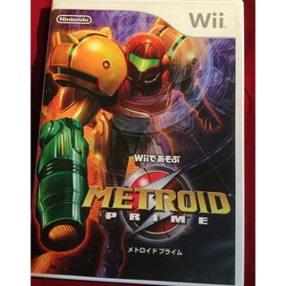 ウィー(Wii)の送料込 Wiiであそぶ メトロイドプライム(家庭用ゲームソフト)