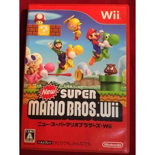 Wii - 送料込 Wii New スーパーマリオブラザーズ MARIO