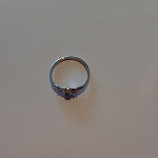 シルバー風 ターコイズ石のリング✨✨(リング(指輪))