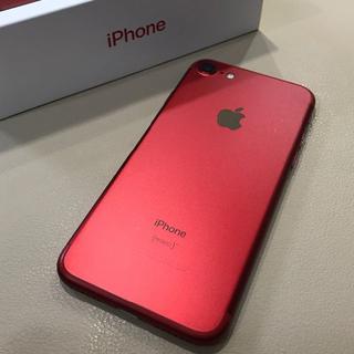 アイフォーン(iPhone)のRuRu様専用【超美品/】softbank iPhone7 128GB レッド(スマートフォン本体)