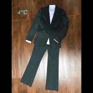 ヨンドシー(4℃)の4℃ スーツ3点セット ジャケット スカート パンツ(スーツ)