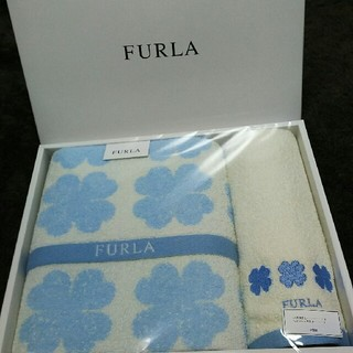 フルラ(Furla)の新品☆FURLA  バスタオル&ウォッシュタオル(タオル/バス用品)
