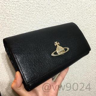 595233e490f0 ヴィヴィアンウエストウッド(Vivienne Westwood)のエグゼクティブ口金長財布 黒 ブラック(財布