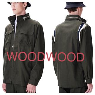 ウッドウッド(WOOD WOOD)の新品定価5万程 woodwood ウッドウッド ミリタリー m65 アウター(ミリタリージャケット)