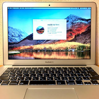 マック(Mac (Apple))のMacBook Air 13インチ 8GB 256GB 2015(ノートPC)