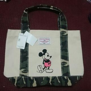 しまむら - しまむらミッキーカモフラ迷彩バッグ