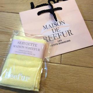 メゾンドリーファー(Maison de Reefur)のメゾンドリーファーハンドタオル&ショッパーセット(ハンカチ)