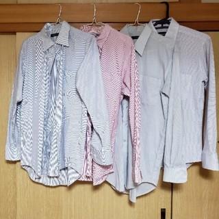 ユニクロ(UNIQLO)のメンズカラーワイシャツ 4点セット(シャツ)
