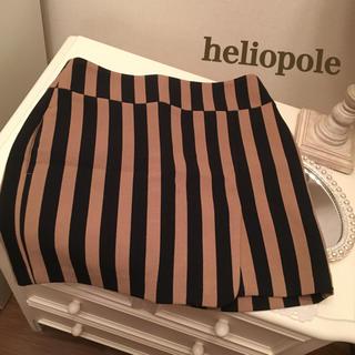 エリオポール(heliopole)の定価15000円 heliopole  ストライプスカート    (ひざ丈スカート)