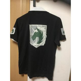 講談社 - 進撃の巨人 憲兵団 ポロシャツ