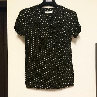 バーニーズニューヨーク(BARNEYS NEW YORK)の新品、未使用、3.1PHILLIP Lim ドット、 リボンTーシャツ(Tシャツ(半袖/袖なし))
