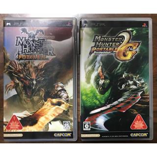 PlayStation Portable - 【2枚セット】モンスターハンター & 2ndG