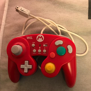 Wii U - ゲームキューブ コントローラー マリオ 限定品 美品