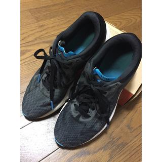 ミズノ(MIZUNO)のMIZUNO ウェーブソニック ランニング シューズ グレー 24.0cm(ランニング/ジョギング)