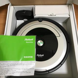 アイロボット(iRobot)の2017年製 美品 アイロボット 自動掃除機 ルンバ 690(掃除機)