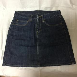 MUJI (無印良品) - デニムスカート・サイズ:64-89(無印良品)