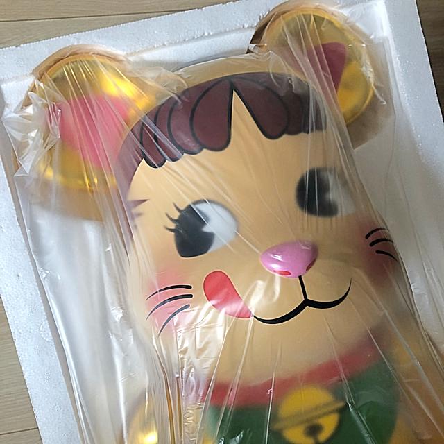 MEDICOM TOY(メディコムトイ)のYOU CAN 様専用!!ベアブリック   招き猫 金ペコちゃん 1000% エンタメ/ホビーのフィギュア(その他)の商品写真