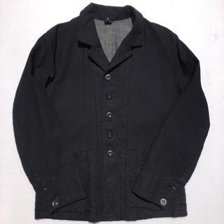 フォーティーファイブアールピーエム(45rpm)のサイズ3 45rpm 藍染ジャケット 5つボタン ネイビー インディゴ デニム(テーラードジャケット)