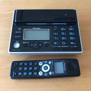 パイオニア(Pioneer)のPioneer コードレス電話 親機+子機(その他)