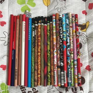 鉛筆、赤鉛筆、赤青鉛筆、キャップ(鉛筆)