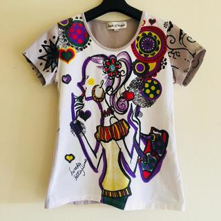 セブンパーセントモアピンク(7% more PINK)のhiroko kitajima デザインプリントT(Tシャツ(半袖/袖なし))