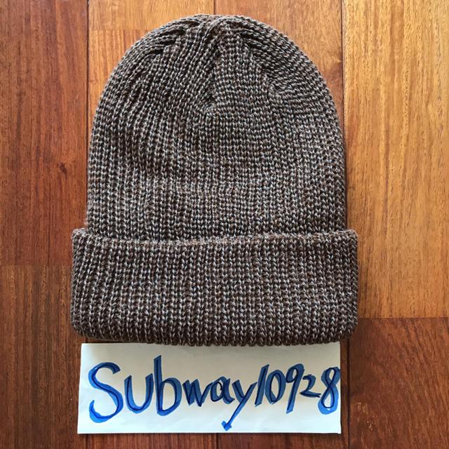 63d4163060af4 Supreme(シュプリーム)のSupreme Reflective Loose Gauge Beanie 茶 メンズの帽子(ニット