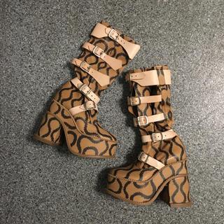 ヴィヴィアンウエストウッド(Vivienne Westwood)のスクイグル クランパーブーツ(ブーツ)
